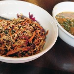Crazy Slaw and Kale Miso Soup