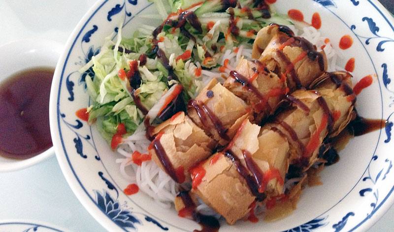 spring roll rice noodle