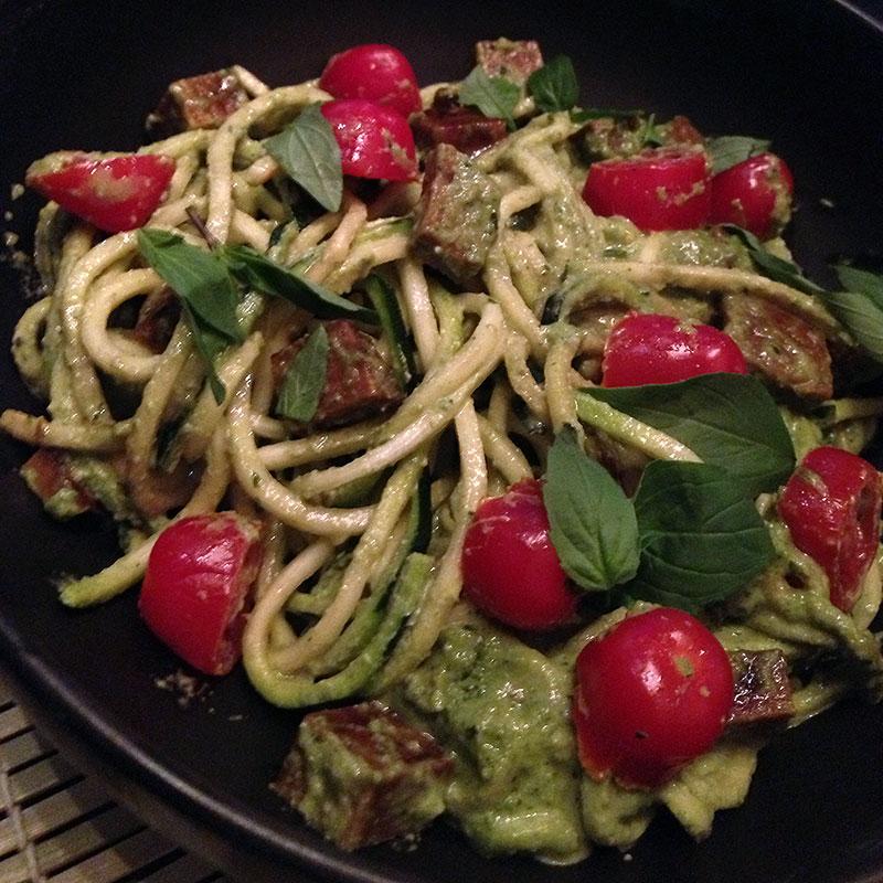vegan-pesto-pasta
